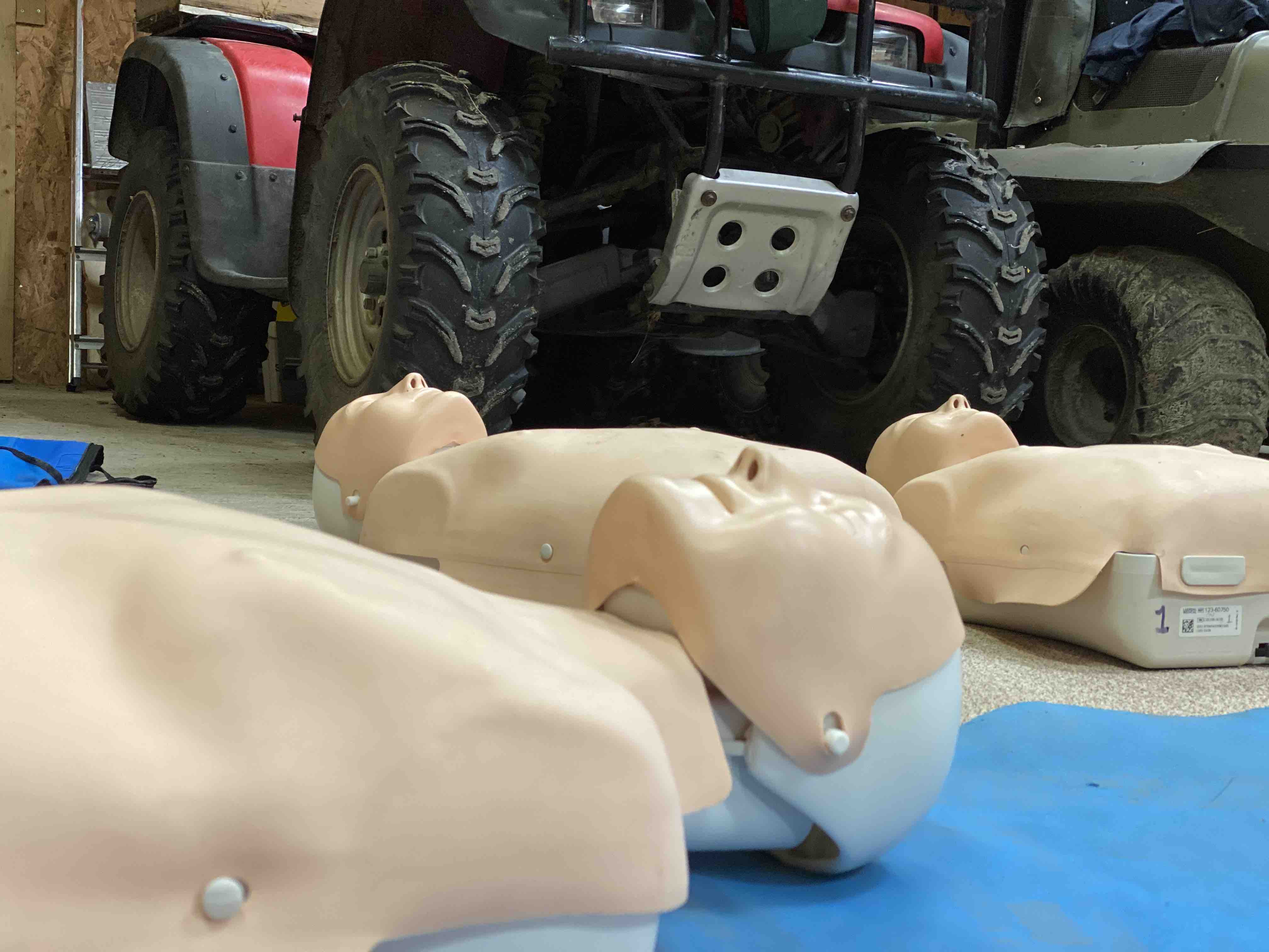 Onsite first aid training Inverness