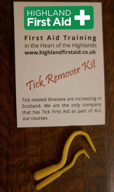 tick removers and branded packaging