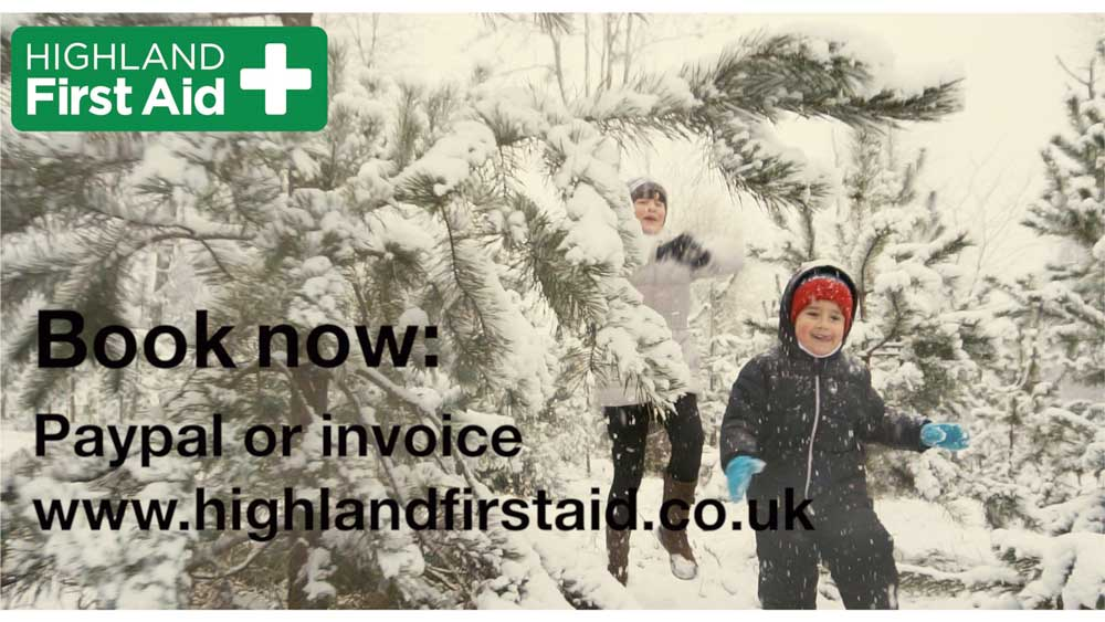 Thumb nail of advert for Fort William Paediatric First Aid