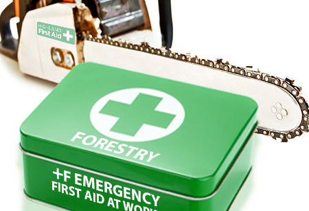 +F forestry Emergency First Aid at Work