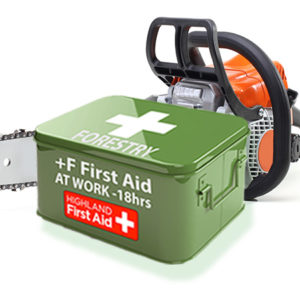 Forestry First Aid at Work + F - 3 Day SCQF Level 6