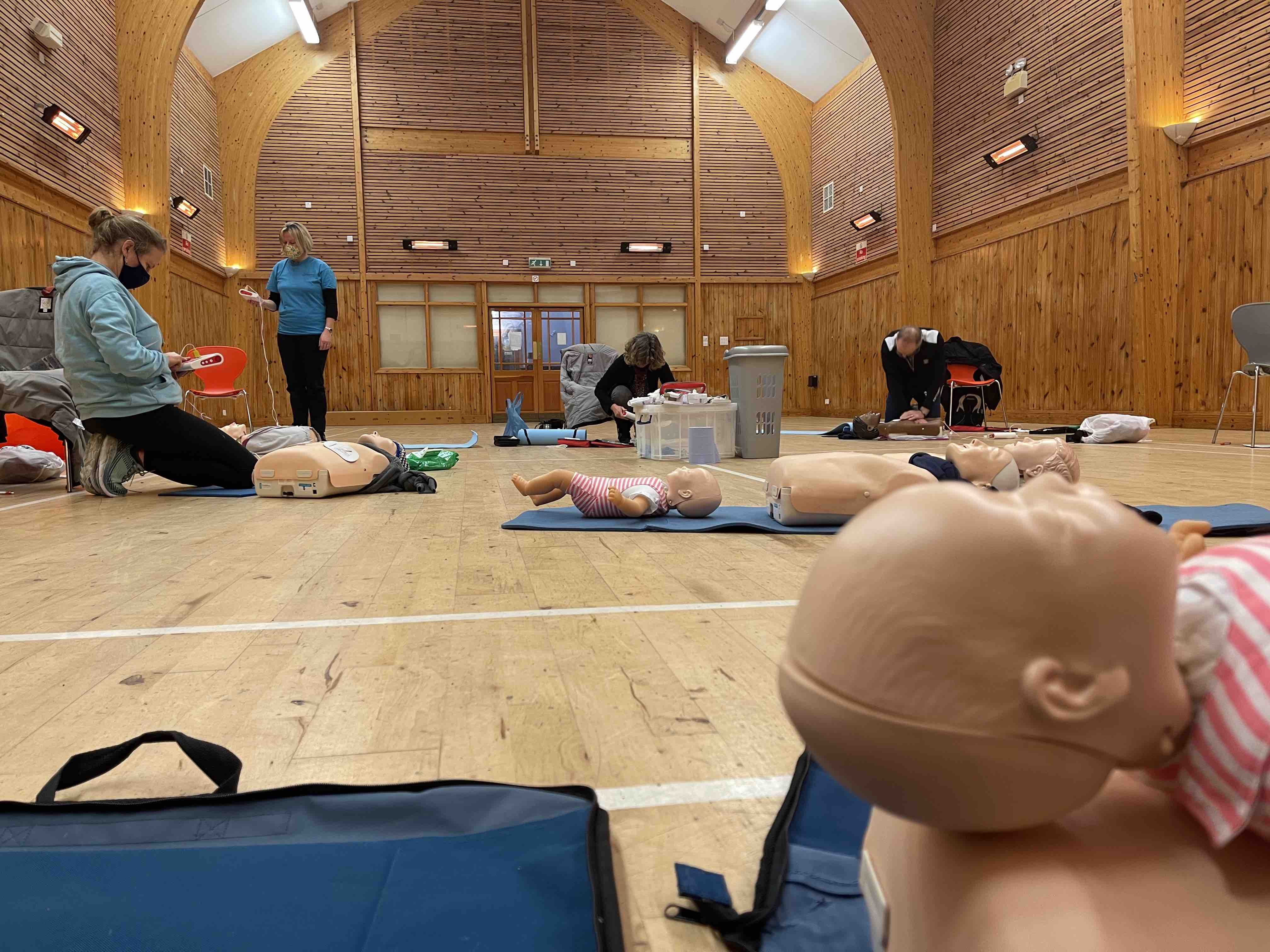 First Aid training in your community